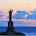 """写真: 遠目の富士 """"富士より高く"""" 151229"""