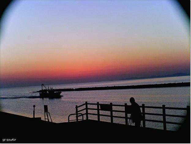 Photos: HOLGAな夜明け