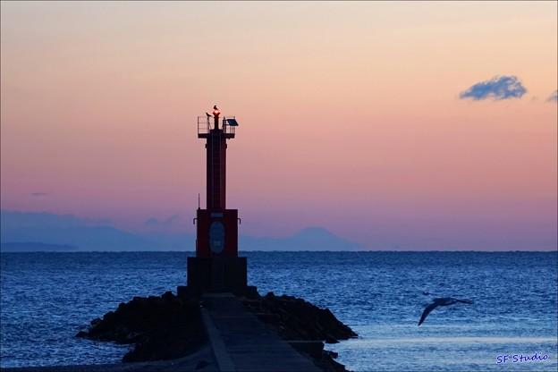写真: 灯台守