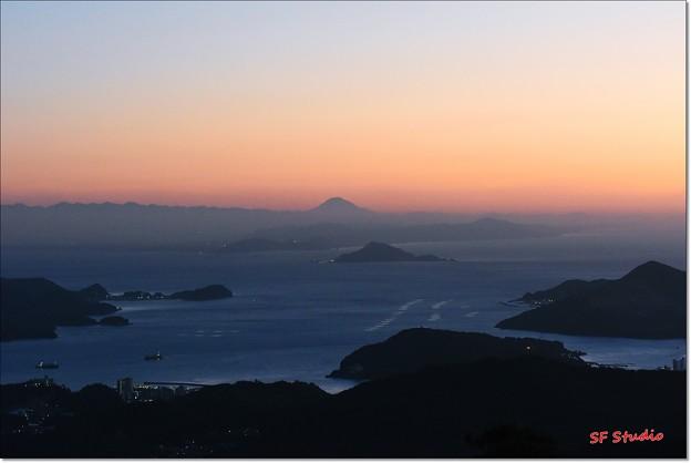 写真: 富士山遠望