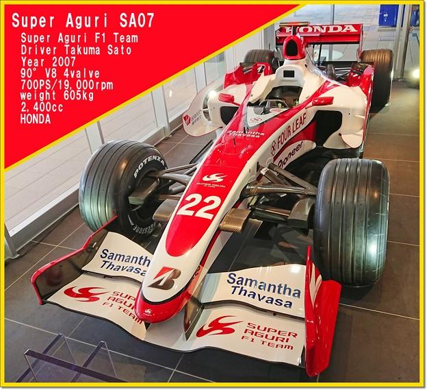 Photos: Super Aguri SA07