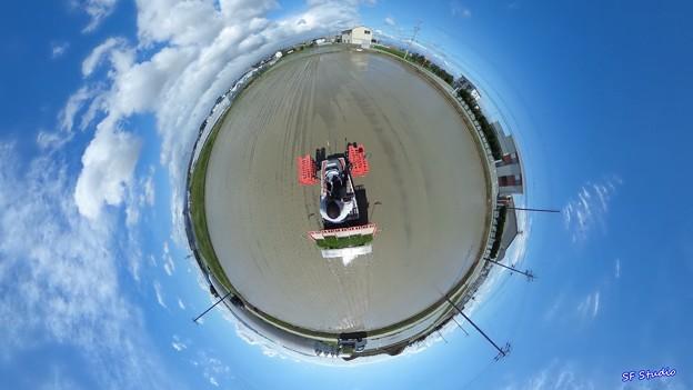 "Little Planet ""Rice Planting"""