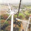 吉岡町風車の羽取り外し-01179