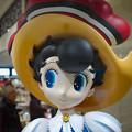 写真: お待ちしてます  新名神宝塚北SAにて