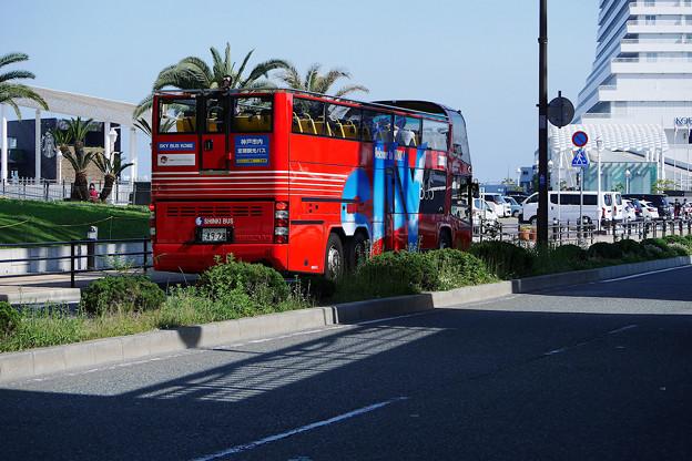写真: 神戸市内定期観光バス