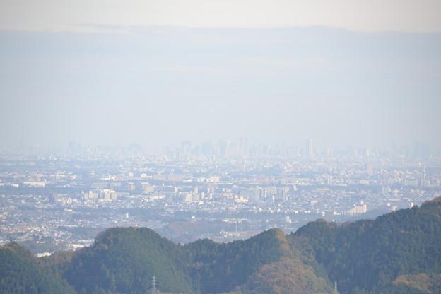 城山からの景色 [東京都あきる野市]