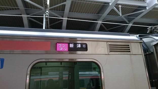 行先表示器 (E129系 新ニイA14編成) [JR 新潟駅]