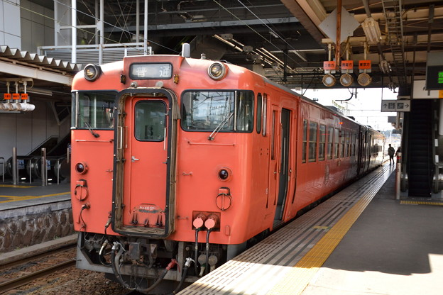 キハ40系 キハ40-551 [JR・青い森鉄道 八戸駅]