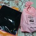 姪っ子からチョコとネコのハンドタオルを貰いました\(^o^)/