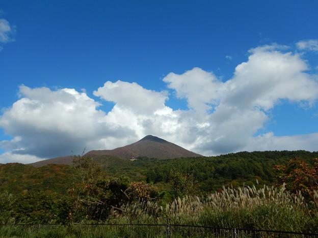 会津。磐梯山