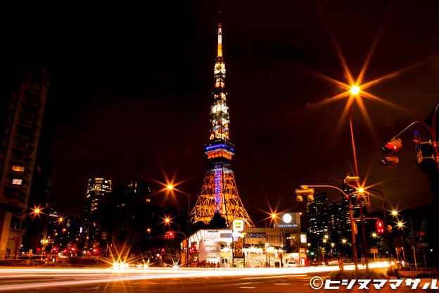 ド定番の東京タワー3
