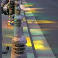 写真: 街の光彩