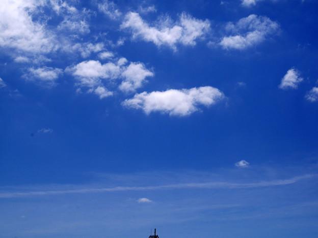 写真: 蒼い空