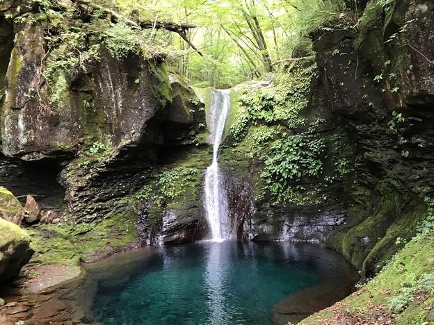 写真: 幻の滝