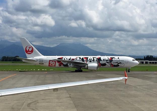 Photos: 鹿児島空港にて