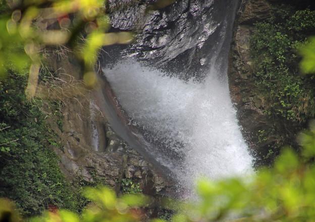 千里ケ滝の吹き出し口