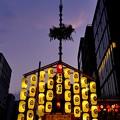 写真: 祇園の夕映え