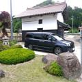 Photos: 妻の実家と愛車トヨタノア80系