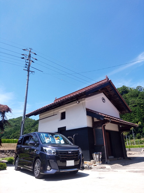 田舎と愛車トヨタノア80系