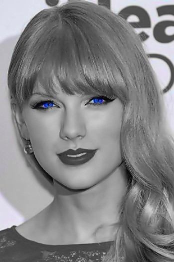 Beautiful Blue Eyes of Taylor Swift(10683)
