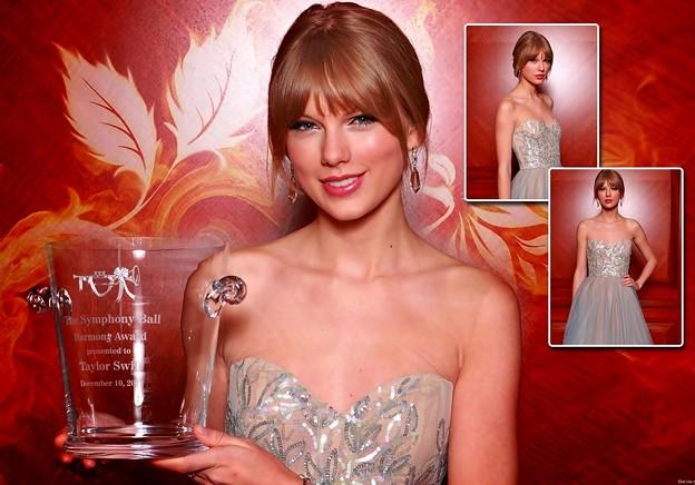 Beautiful Blue Eyes of Taylor Swift (10797)
