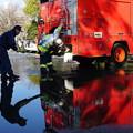 Photos: 消防士