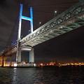 夜のベイブリッジ
