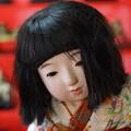 写真: 女の子人形