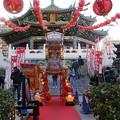 写真: 春節の媽祖廟