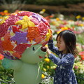 Photos: ガーデンペアと少女