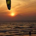 写真: カイトサーフィン