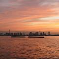 写真: 横浜黄昏