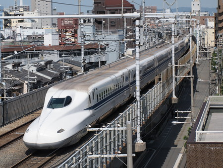 N700系 のぞみ 東海道本線京都~新大阪03