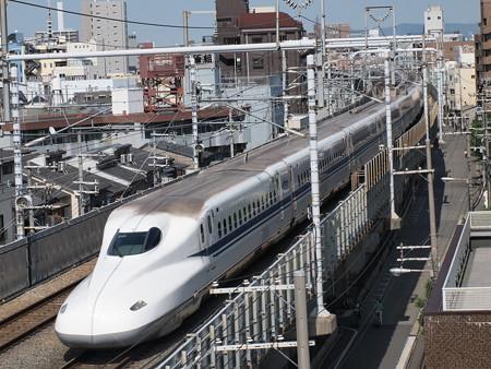N700系 のぞみ 東海道本線京都~新大阪05
