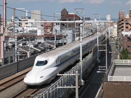N700A のぞみ 東海道本線京都~新大阪02