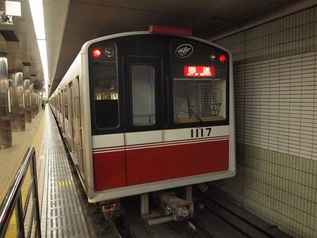 大阪市営地下鉄10系回送 御堂筋線なかもず駅