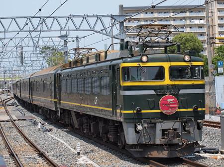 EF81 トワイライトエクスプレス 東海道本線新大阪駅