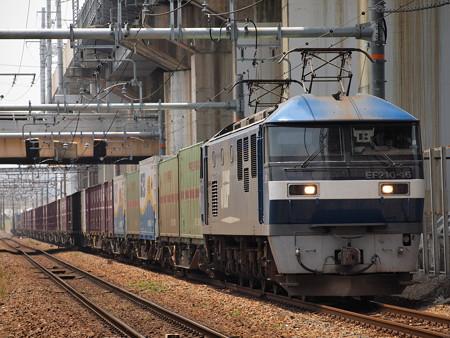 EF210貨物 北方貨物線塚本信号場~吹田操車場03