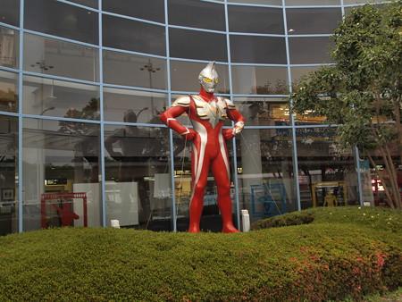 福島空港のウルトラマン
