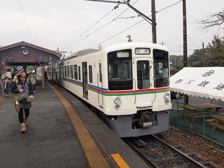 西武4000系回送 秩父鉄道長瀞駅
