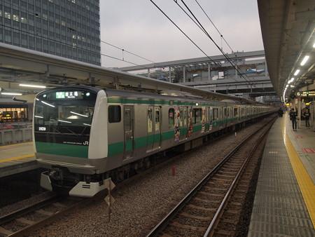 E233系普通   埼京線大崎駅04