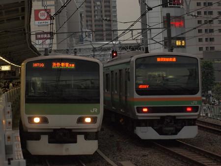 E231系普通   山手線五反田駅02