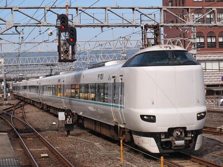 287系特急くろしお 阪和線和歌山駅