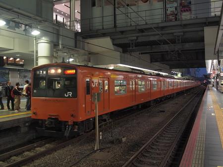 201系普通 大阪環状線大阪駅