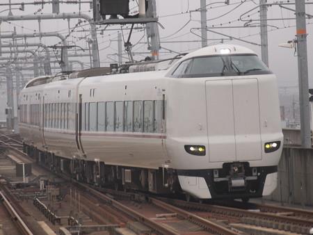 287系特急きのさき 山陰本線福知山駅