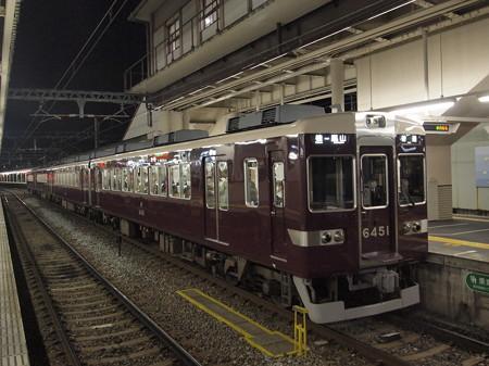 阪急6300系普通 阪急嵐山線桂駅02