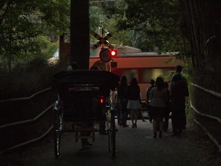 381系特急はしだて 山陰本線保津峡~嵯峨嵐山