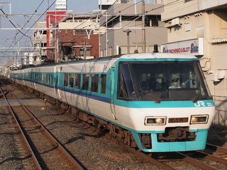 381系特急くろしお 阪和線和泉府中駅