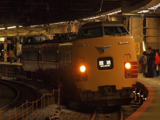 381系特急こうのとり   東海道本線新大阪駅06