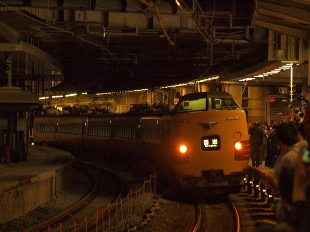 381系特急こうのとり 東海道本線新大阪駅04